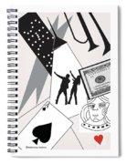 Vegas Night Spiral Notebook