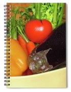 Vegetable Bowl Spiral Notebook