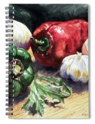 Vegetable Golly Wow Spiral Notebook