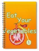 Vegetable Kitchen Decor Spiral Notebook