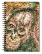 Vegged Out Monkey Spiral Notebook
