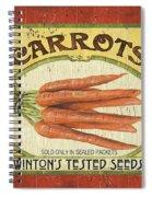Veggie Seed Pack 4 Spiral Notebook