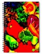Veggies Spiral Notebook