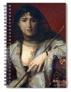 Veiled Circassian Lady Spiral Notebook