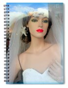 Veiled Thoughts Spiral Notebook