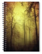 Veiled Trees Spiral Notebook