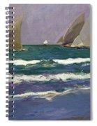 Velas En El Mar. Valencia Spiral Notebook
