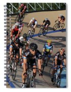 Velodrone Race Event Spiral Notebook