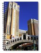 Venetian Hotel Spiral Notebook