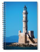 Venetian Lighthouse Spiral Notebook