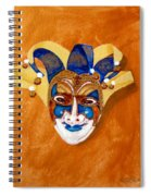 Venetian Mask 2 Spiral Notebook