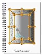 Venetian Mirror Spiral Notebook