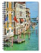 Venetian Palaces Spiral Notebook