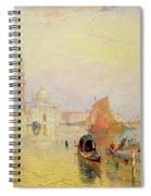 Venetian Scene, 19th Century Spiral Notebook
