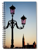 Venetian Sunset Spiral Notebook