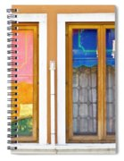 Venetian Window Reflections Spiral Notebook