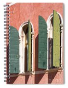 Venetian Windows Spiral Notebook