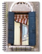 Venetian Windows Shutter Spiral Notebook