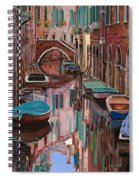Venezia A Colori Spiral Notebook