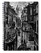 Venice At Night Spiral Notebook