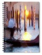 Venice Blue Hour 1 Spiral Notebook