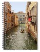 Venice Canal 2 Spiral Notebook