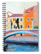Venice Canal Painting Spiral Notebook
