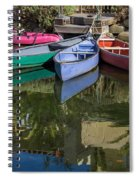 Venice Canal Reflections Spiral Notebook