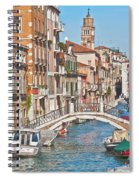 Venice Canaletto Bridging Spiral Notebook
