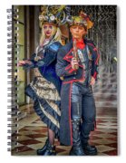 Venice Carnival Characters_dsc1364_02282017  Spiral Notebook