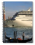 Venice Cruise Ship 2 Spiral Notebook