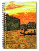 Venice Eventide Spiral Notebook