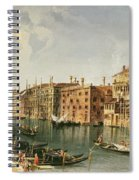 Venice, Grand Canal And The Fondaco Dei Turchi  Spiral Notebook