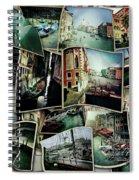 Venice Hipsta Spiral Notebook