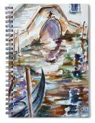 Venice Impression I Spiral Notebook