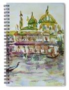 Venice Impression Iv Spiral Notebook