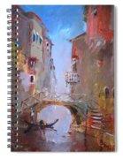Venice Impression Spiral Notebook