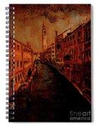Venice In Golden Sunlight Spiral Notebook