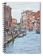 Venice In Pastel  Spiral Notebook