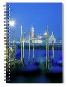 Venice Lagoon At Dusk Spiral Notebook