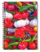 Venice Market Goodies Spiral Notebook