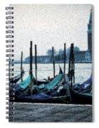 Venice Morning Spiral Notebook