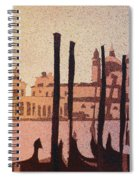 Venice Morning Spiral Notebook
