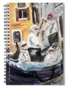 Venice Party Spiral Notebook