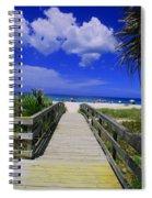 Venice Pier Venice Florida Spiral Notebook