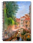 Venice Ponte Moro Spiral Notebook