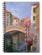 Venice Ponte Vendrraria Spiral Notebook