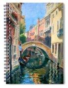Venice Ponte Widmann Spiral Notebook