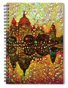 Venice Reflections Spiral Notebook