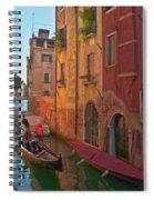Venice Sentimental Journey Spiral Notebook